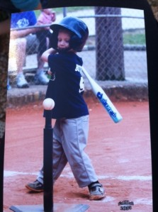 My nephew, too cute not to include! These t-ball games are the best thing in the world to watch! If you're ever having a bad day, go watch a game of t-ball!