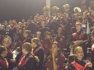 Hailey performing with the HGHS band Friday night!
