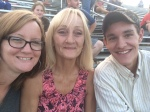 Me, Mom, Ryan... in that order! Cheering for Hazel Green!!